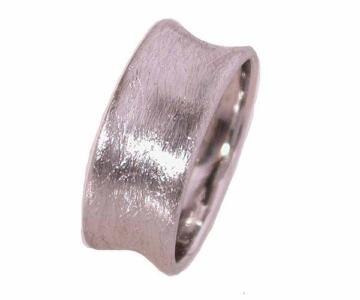 Ring silver model for men with band