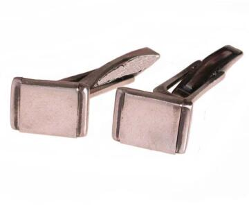 Cuffs in 925 silver with aged style
