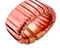 Bracelet gas tube in bronze