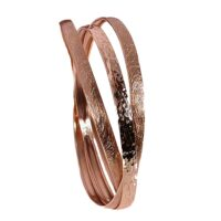 3 bronze bracelets in circle
