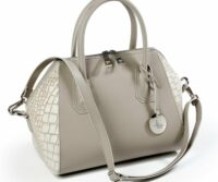 Soave Opaque Leather & Calf Hair Tote (27015M8)