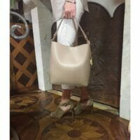 Classic Ruga Leather Satchel (B122)