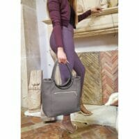 Contemporary Medium Dollaro Leather Bag (B275)