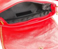 genuine leather Sauvage - RED
