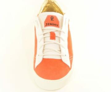 OL' JIMMY Melissa Sneakers Shoes - Coral