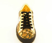OL' JIMMY NANA' Sneakers Shoes - Gold