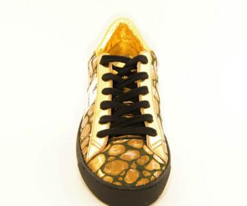 OL' JIMMY NANA' Sneakers Shoes - Gold