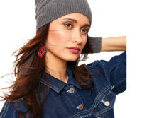 PORTOLANO - Ladies Ribbed Slouchy Hat - Main