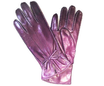 63b Purple Leather Front
